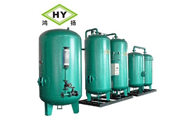 变压吸附制氮设备工作流程